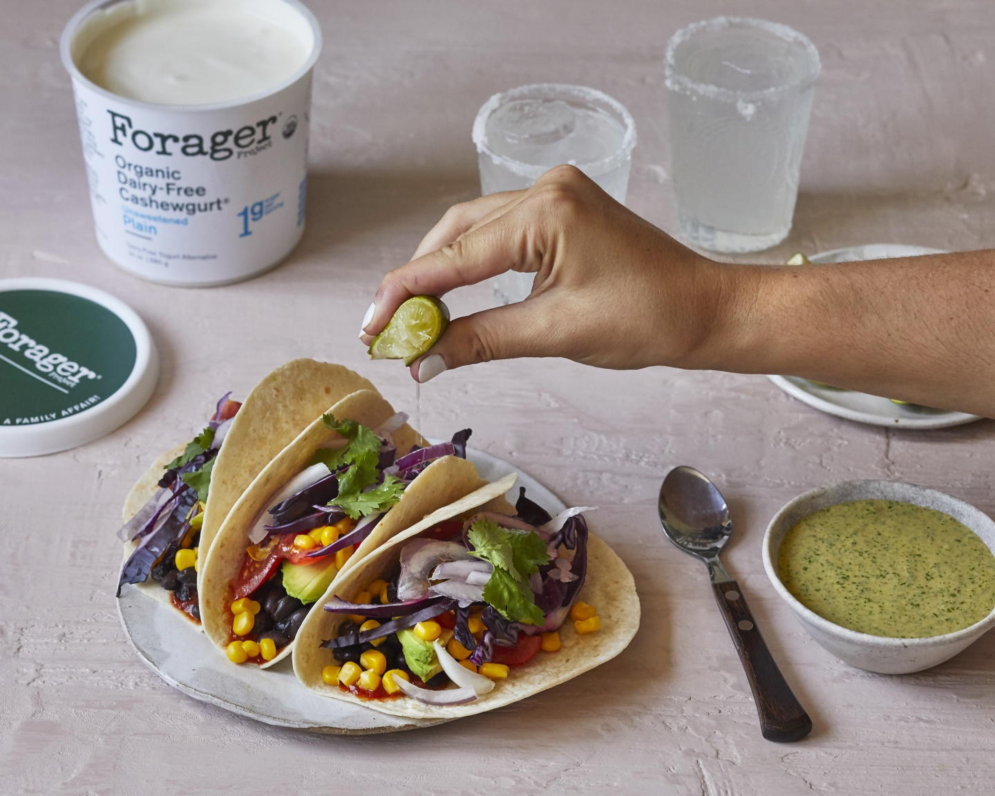 Forager Project plant based taco