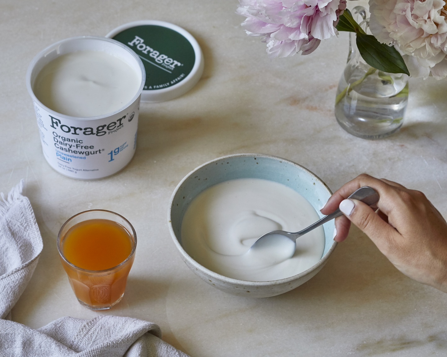 Forager Project dairy free yogurt