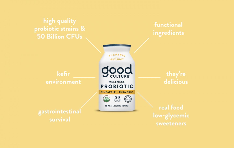 Good Culture Probiotic Gut Shot